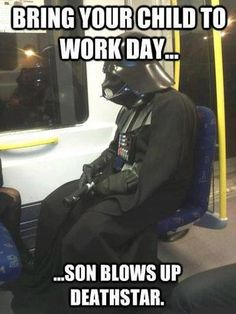 ...son blows up Death Star.