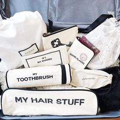 Hair Product Organization, Purse Organization, Organizing, Garment Bags, Pet Bottle, Bago, Travel Accessories, You Bag, Travel Bags