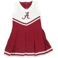 Alabama Infant Cotton Cheerleader Dress