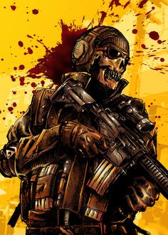 Sick Call of Duty: Ghosts art