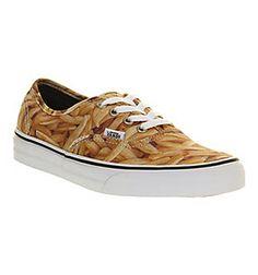 89bf03c595 Vans AUTHENTIC FRENCH FRIES EXCLUSIVE Shoes - Vans Trainers - Office Shoes  Vans Original