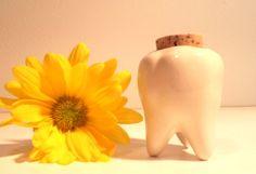 Handmade Ceramic Tooth Keepsake Jar. Keep your by hellosweetie, $13.00