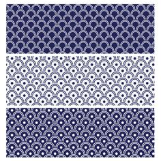 Quick Tip: How to Make a Repeating Japanese Wave Pattern in Adobe Illustrator - Tuts+ Design & Illustration Tutorial by LoungeKat Wave Pattern, Surface Pattern Design, Pattern Art, Adobe Photoshop, Photoshop Tutorial, Photoshop Actions, Japanese Patterns, Japanese Design, Japanese Textiles