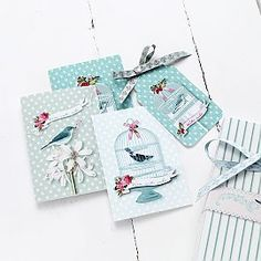 Christmas cards and tags #Christmas
