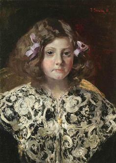 Joaquín Sorolla y Bastida  (1863-1923)  — Portrait of María Paz Bárcena Velarde  (841×1178)