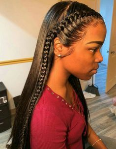 8 Quick Straight Hair Weave Cute Back To School Hairstyles For Black