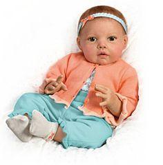 """""""Hannah"""" Lifelike doll"""