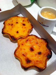 Queijadas de tentúgal - made with fresh cheese, a sweet tart. No point describing, you must try it!    #portuguese #delight