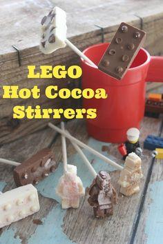 LEGO Hot Cocoa Stirr