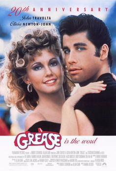 Grease is the word! I have seen this movie more than any other movie and never tire of it!!!!!!!!!!!!