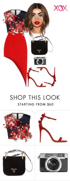 """""""V day"""" by fashion-is-my-passion-14 ❤ liked on Polyvore featuring Clover Canyon, Salvatore Ferragamo, GALA, Prada and Casetify"""