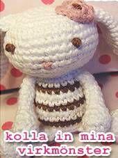 ♥stjernfalls blogg♥ - Crochet Hats, Doll, Blogg, Stuff To Buy, Threading, Knitting Hats, Puppet, Dolls, Baby