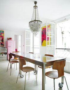 Casinha colorida: Inspiração décor – cozinhas escandinavas modernas