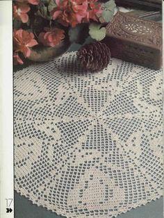 World crochet: Napkin 464