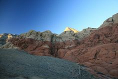 Red Rock Canyon, California, diciembre 2013