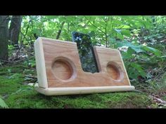 Passive iPhone Speaker - Made from Wood - YouTube
