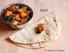 Roshni's Kitchen: Tiffin - Roti and Parata Varieties