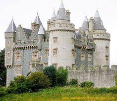 Killyleagh Castle, Killyleagh, County Down, Northern Ireland.