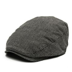 Men Outdoor Leisure Beret Knitting Flat Cap Newsboy Cowboy Cabbie Hat