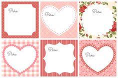 Como hacer nuestras propias etiquetas y postales de San Valentín + Etiquetas imprimibles gratis - Personalización de Blogs   Tutoriales blog...