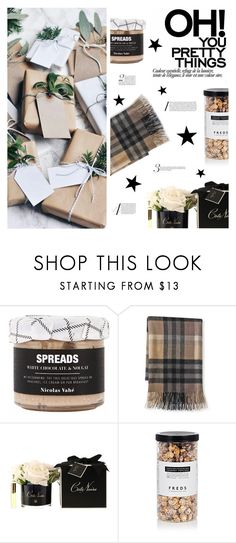 """""""Gift Guide"""" by fran-tasy ❤ liked on Polyvore featuring interior, interiors, interior design, home, home decor, interior decorating, Nicolas Vahé, Williams-Sonoma, Côte Noire and FREDS at Barneys New York"""