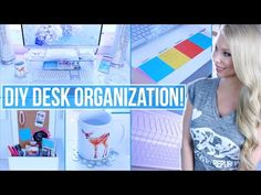 Here is my desk tour + organization hacks along with my best study hacks to get an A for back to school plus a GIVEAWAY! Hope you enjoy xo Don't miss out! Su...
