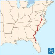 Auto Train Transports You and Your Car - Lorton, VA - Sanford, FL   Amtrak