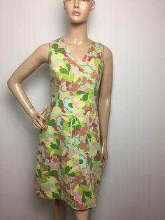 Sigrid Olsen Dresses Women's Multicolor Sleeveless Size 6     eBay