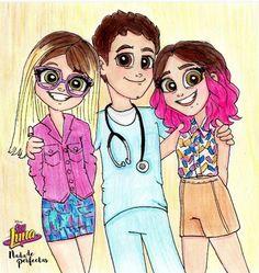 Simón, Luna y Nina
