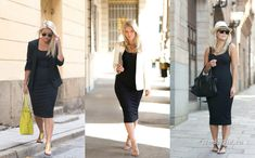 Уличная мода: Все секреты базового гардероба в модных образах фэшн-блоггера Linda Juhola Capri Pants, Fashion, Moda, Capri Trousers, Fashion Styles, Fashion Illustrations