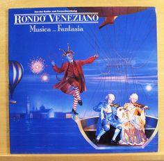 RONDO VENEZIANO Musica ... Fantasia - mint minus - Vinyl LP -Italo Disco Pop RAR
