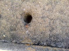 #holes and #perforations 15/040