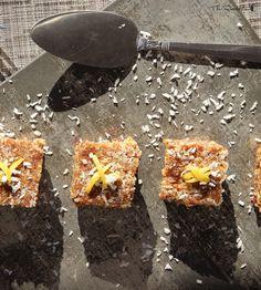 The Rawtarian: Raw lemon bars recipe