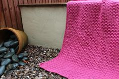 Easy Shell and Chain Baby Blanket
