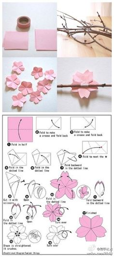 The cherry blossom theme for weddings and parties is a lovely one! We have a few DIY cherry blossom crafts for you to check out. First, from Beach House in the City, a DIY tutorial on how to make …