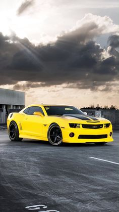 Wallpapers for Samsung Galaxy - Thousands of HD Wallpapers for your Samsung smartphone in resolution Camaro Auto, Chevrolet Camaro, Chevy, Fast Sports Cars, Sport Cars, Ford Mustang, Disney Cars Wallpaper, Yellow Camaro, Bugatti Type 57