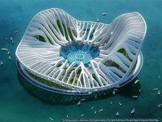 Lilypad by Vincent Callebaut.