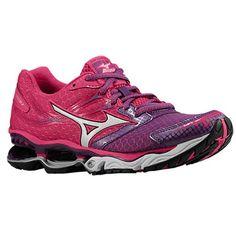 Mizuno Wave Creation 14 - Women's - Running - Shoes - Beetroot/White/Purple Magic