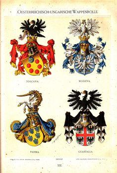 Österreichisch Ungarische Wappenrolle 1890, Hugo Gerhard Ströhl, page 8.