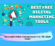 Are you an online marketer, a digital marketer or looking forward to get started as an online entrepreneur? Then, you need the right tools, so read this article where we've analyzed the best you need to use. Online Marketing Tools, Affiliate Marketing, Digital Marketing, Way To Make Money, Make Money Online, How To Get, Online Entrepreneur, Get Started, Reading