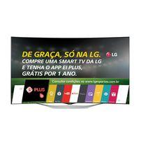 "Smart TV OLED 55"" LG 55EC9300 Full HD 3 HDMI 3 USB - Prata"