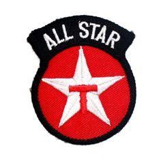 78a5cc05bb3b  2.99 - All Star Texaco Sports Oil Gasoline Motorcycles Nascar F1 T-Shirt  Iron On Patch  ebay  Home   Garden
