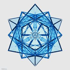 WM.Design Optical Illusion Gif, Illusion Art, Optical Illusions, Fractal Geometry, Fractal Art, Sacred Geometry, Trippy Gif, Geometric Sculpture, Animation Tutorial