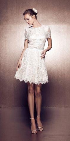Daalarna short wedding dress | Ballet Collection BLT115