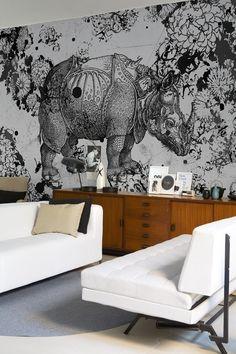 Shop de mural – dé behangtrend van dit jaar | Wunderkammer | ELLE Decoration NL