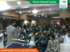 Naswiz Holidays organised a Business Seminar on 13 Dec 2014, Saturday. This was scheduled at League HIOTEL ,SEC -14, Gurgoan, Delhi NCR. The Response was amazing and participation level was highest.
