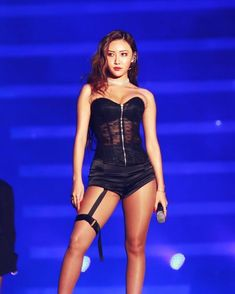"""""""Thread of iconic outfits that hwasa wore:"""" Mamamoo, South Korean Girls, Korean Girl Groups, K Pop, Girl Crushes, Bra And Underwear Sets, Kpop Outfits, Stage Outfits, Korean Beauty"""
