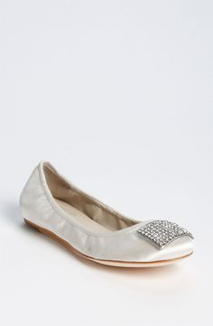 An idea for reception shoes. It might be chilly and may work better than flip flops...
