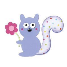 Faca Sizzix Bigz Squirrel & Flower KF32.*