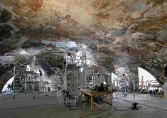 Centro Estudios del Museo del Prado - Museo Nacional del Prado La consolidación y restauración de la bóveda de Luca Giordano